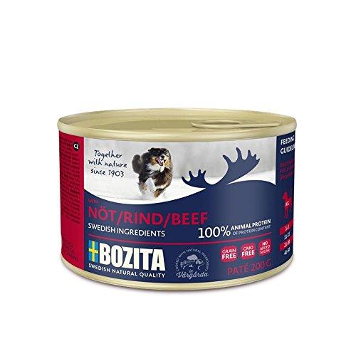 Bozita Dog Paté Rind | 20x 200g Hundefutter nass