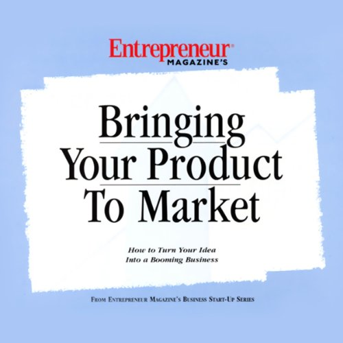 Bringing Your Product to Market audiobook cover art