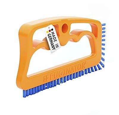 Fuginator Tile Joint Brush Orange/Blue– Innovative Grout Brush for Cleaning Joints in Bathroom, Kitchen & Household