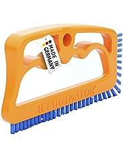 Fuginator - Cepillo para Juntas de Azulejos, Color Naranja y Azul - Innovador Cepillo de lechada para Limpieza de Juntas en el baño, Cocina y hogar - Elimina el Moho superficialmente