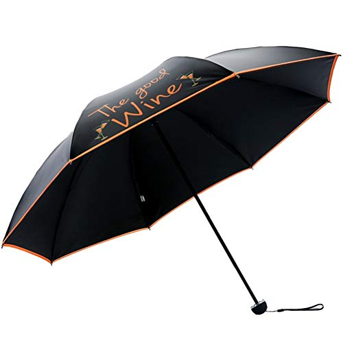Regenschirm-Regen Frauen windundurchlässiges Durable Folding Sonne Rainy Regenschirme beweglicher Sonnenschutz Weibliche Mädchen Sonnenschirm-Regenschirm