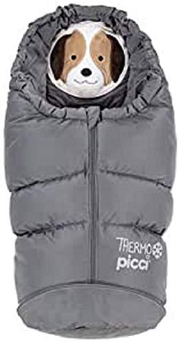 Picci SP1100S303 Thermo Sacco Termico per Bambini, Grigio, 81 cm