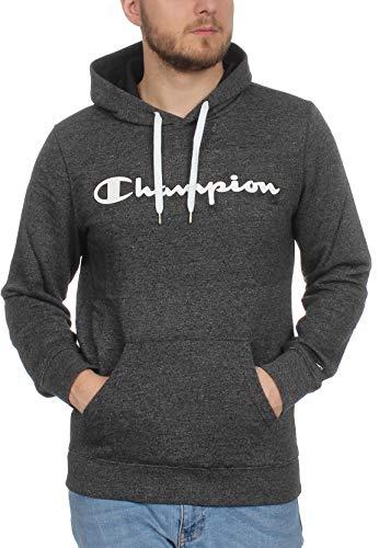 Champion trui met capuchon heren 212680 S19 KJ002 WBJM zwart gemêleerd