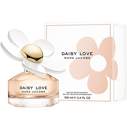 MARC JACOBS Daisy Love Perfume, 3.4 Fl Oz Eau De Toilette Spray.