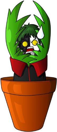 T-Shirt Noir Naruto parodique Zetsu de l'Akatsuki : Pas de Pot. !! (Parodie Naruto)