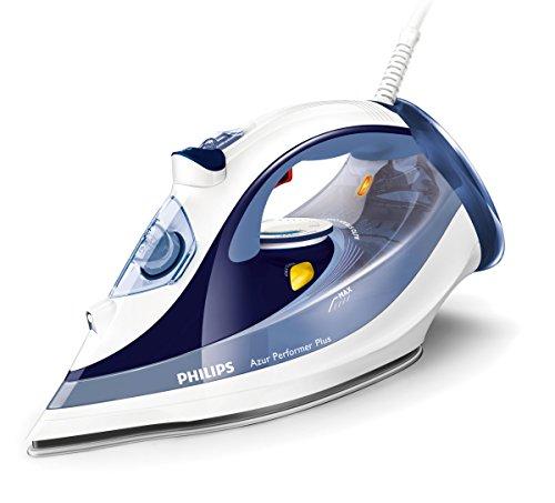 Philips GC4516/20 Azur Performer Plus Fer à vapeur, technologie Auto Steam Control, coup de vapeur 200 g, réservoir 300 ml