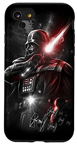iPhone SE (2020) / 7 / 8 Star Wars Darth Vadar Dark Lord Lightsaber Case