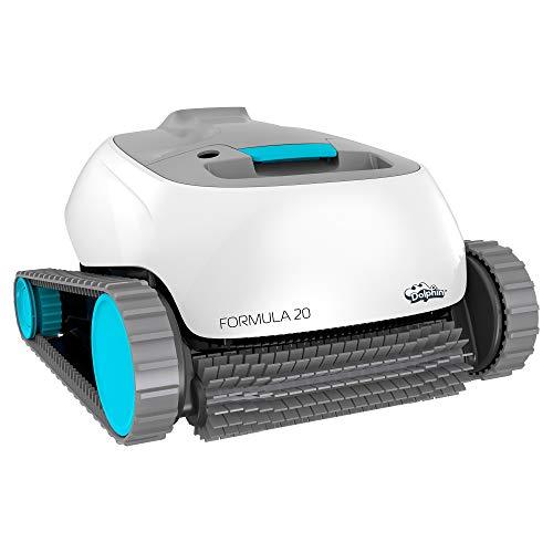 Maytronics Dolphin Formula 20 - Robot limpiafondos para Piscinas (Fondo y Paredes)