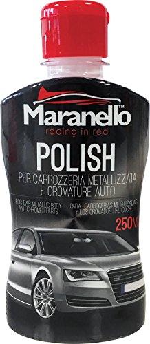 Abrillantador Pulimiento Polish Carrocería Coche Metalizada y para Cromadura 250 ml