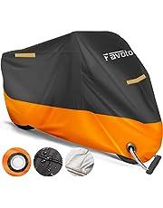 Favoto [verbeterde versie] waterdichte motorafdekking motorfiets dekzeil outdoor
