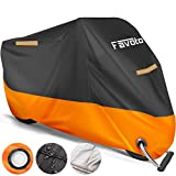 Favoto Housse de Protection Impermeable pour Moto Scooter Couverture...
