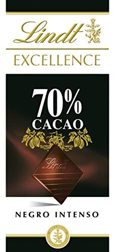 Lindt&Sprungli Tavoletta Excellence 70% - 5 Confezioni da 100 g
