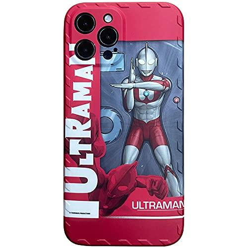 DNZJHHM Creative Ultraman Diga Personalidad DE LA Personal DE LA Persona DE LA Cubierta DE LA Cubierta DE Apple iPhone 11 Pro XS MAX X XR 8 7 6 6S Plus 5S SE-A01_para iPhone 8