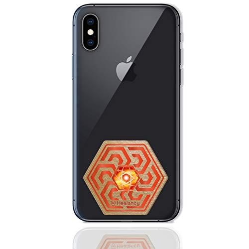 Healancy Biomedical - Protección contra los rayos UV - Compatible con el teléfono móvil iPhone XS Max 64 GB - Protección EMF imprescindible para los usuarios de llamadas múltiples.