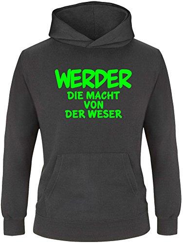 EZYshirt® Werder die Macht von der Weser Kinder Hoodie