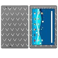 igsticker Qua tab PZ LGT32 全面スキンシール タブレット tablet LGエレクトロニクス シール ステッカー ケース 保護シール 背面 050309