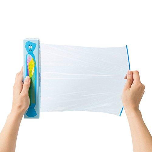 日立化成包装用品ブルー22cm×50mカラーラップwithバーバパパ