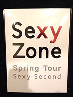 Sexy Zone Concert Spring Tour Sexy Second 2014 公式グッズ パンフレット