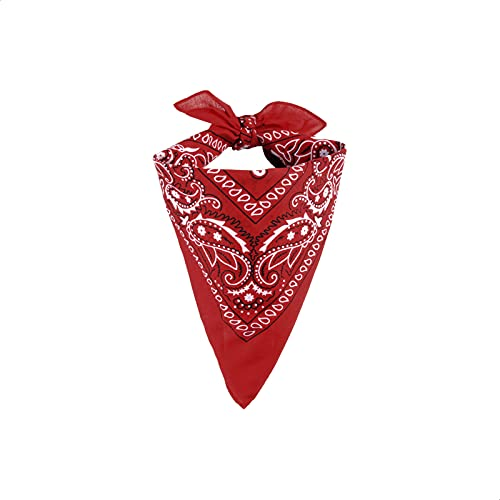 EUROXANTY Bandana 100% Algodón | Pañuelo para el Cuello, Cabeza, Muñeca | Diseño Único | Pañuelos para Moda y Deporte |