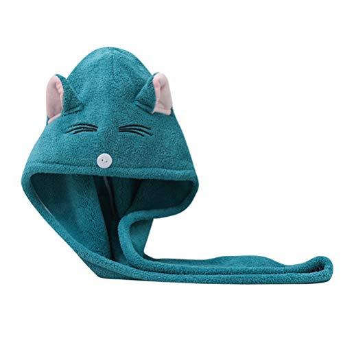 ZAIZAI Toalla De Baño De Microfibra Gruesa De Secado Rápido Súper Absorbente De Baño para Mujer (Color : Blue)
