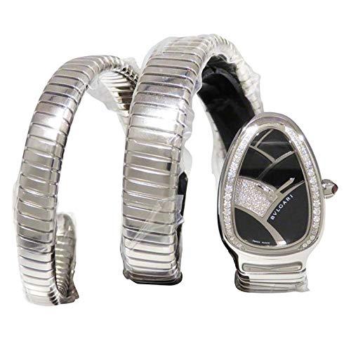 ブルガリ BVLGARI セルペンティ トゥボカス SP35BD1SDS.2T ブラック文字盤 新品 腕時計 レディース (W164373) [並行輸入品]