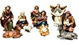 Hampstead Collection Resin 3 inch Nativity Figurine Set, Set of 11