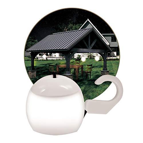 Alma Garden Led-hanglamp, buitenverlichting/lantaarn voor buiten, wit