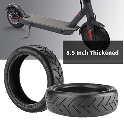 Emaxusa Replacement Tire for Electric Scooter, 8.5 Inch Outer Air Tire, Durable Pneumatic Rubber Tires for Front/Rear Wheel