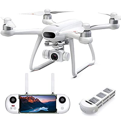 Drone with Camera for Adults 4K 31Mins Flight, Potensic Dreamer GPS Quadcopter with Brushless Motors, Auto Return, 5.8G WiFi FPV Transmission, Long Control Range Flycam, Easy for Beginner and Expert