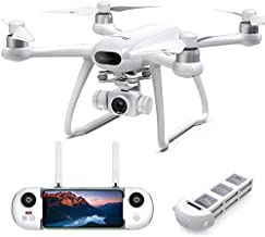 Potensic Dreamer Drone with Camera for Adults 4K 31Mins Flight, GPS Quadcopter with Brushless Motors, Auto Return, 5.8G WiFi FPV Transmission, Long Control Range Flycam, Easy for Beginner and Expert