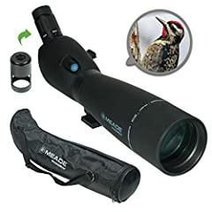 Meade high-quality, 20-60 power, zoom Porto prism binoculars deliver years of use. Rugged rubber armor. Large 80mm objective gathers plenty of light for bright detailed images Features high index BaK-4 prisms and high-quality, precision ground lenses...