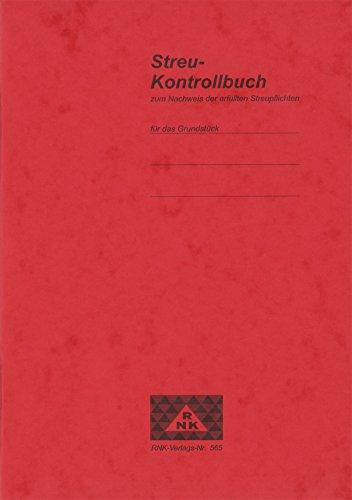 RNK 565 - Streu-Kontrollbuch, 24 Seiten, DIN A5, 1 Stück
