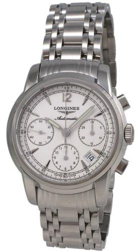 Longines Saint-Imier Automatic Chronograph Steel Mens Watch Silver Dial Calendar L2.752.4.72.6