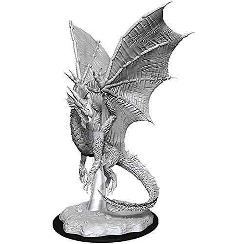 D&D Nolzurs Marvelous Upainted Miniatures: Wave 11: Young Silver Dragon