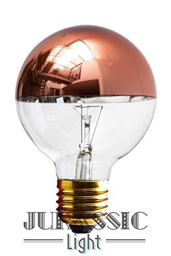Glühlampe Kupferkupfer Globe 125 mm weißleuchtend