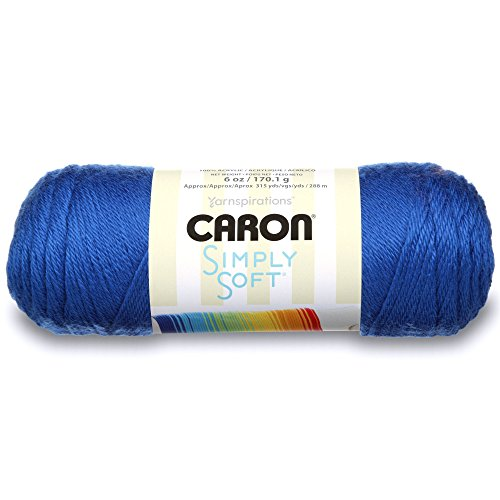 Caron Simply Soft Solids Yarn - Royal Blue