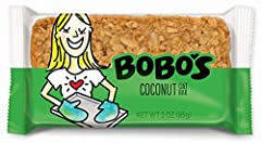 Contains 12 Bobo's Oat Bars (3oz each) NON-GMO, GLUTEN FREE, DAIRY FREE, VEGAN: Free of wheat, meat, soy, dairy, GMOs, trans fats, refined sugars, and corn SIMPLE, WHOLESOME, ORGANIC INGREDIENTS: Lower number of ingredients compared to most other who...