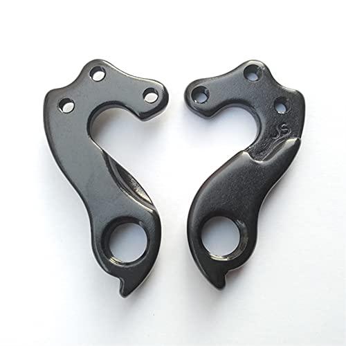 MAIOPA Durevole 2PC Bicycle Rear Deragliatore Gear Gears per Kuota Kona Rocky Mountain Fuji Cinelli Storck Kuota Stevens Isaac Wilier Canyon Facile da sostituire (Color : Black)