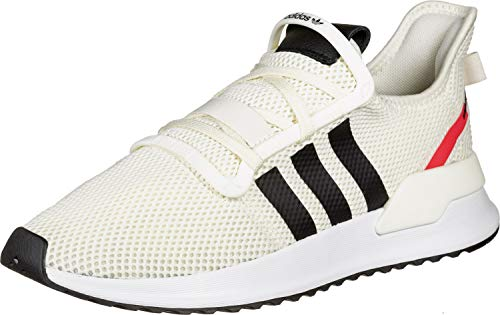 adidas Herren U_Path Run Sneaker, Off White Off White Core Black Shock Red 10013283, 42 2/3 EU