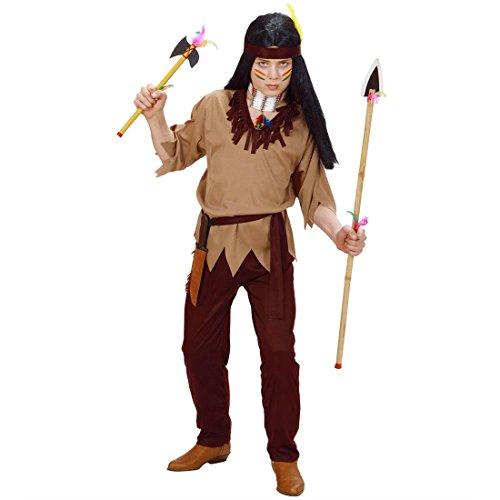Disfraz de indio para nios de 158 cm, disfraz de indio para carnaval de Apache, chico, Sioux, disfraz de carnaval del Oeste, para carnaval, para nios