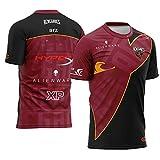 73HA73 T-Shirts à Manches E-Sports pour Hommes Starladder Major 2019 CS_GO Renegades Esports kassad liazz & arz Uniform des Sweats Confortables et Respirants,arz,M(165-172cm)