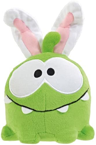 Cut The Rope Om Nom with Crazy mode Bunny Plush by Cut The Rope