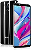 SIM Free Mobile Phone,XGODY Mate RS Dual SIM 3G Unlocked Smartphones Cheap,Android 8.1 Cellphone with 6 inch qHD Screen,5MP Dual Cameras + 8GB ROM(Black, 6')