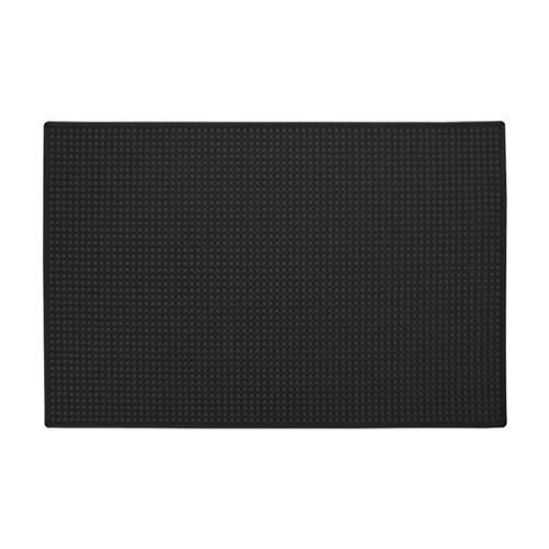 Lurrose Anti-slip pad zachte opvouwbare siliconenmat gereedschap organisator accessoires voor kam haarspeld spiegel sleutel whiteboards mobiele telefoon glas tondeuse (rood) Größe 1 zwart
