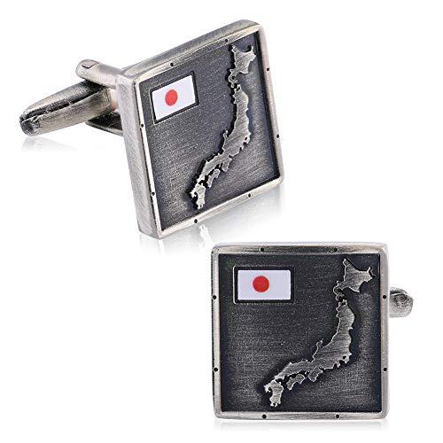 カフスボタン 国旗カフス人気ボタン メンズ おしゃれ ?東京オリンピック専用に設計された