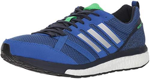 adidas Men's Adizero Tempo 9 Running Shoe, hi-res Blue/Silver Metallic/Legend Ink, 7 M US