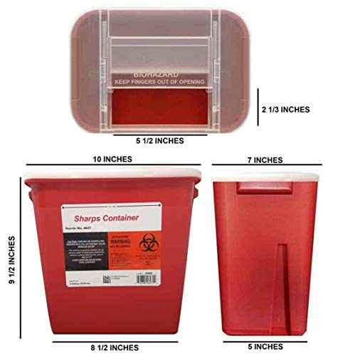 buy  Bulk Sharps Container 2 Gallon – Large ... Diabetes Care