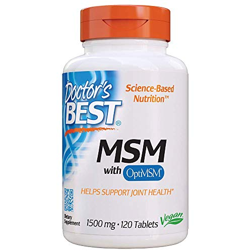 DOCTOR'S BEST MSM FEATURES OPTIMSM - with OptiMSM a high quality purified MSM (methylsulfonylmethane) backed by numerous clinical studies for safety and efficacy.MSM is a natural sulfur compound that helps support the formation of healthy connective ...
