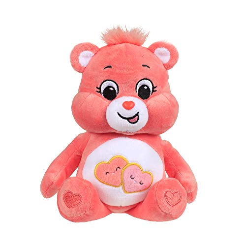 Care Bears - 9' Bean Plush - Love-A-Lot Bear - Soft Huggable Material!