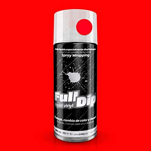 Vernice removibile Full Dip spray 400ml rosso opaco